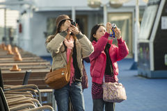 Japanese tourists Royalty Free Stock Images
