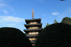 Japanese tower Stock Photo