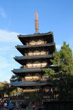 Japanese tower Royalty Free Stock Photos