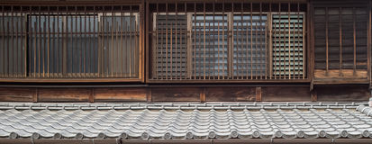 Japanese Tradition Wall Stock Image