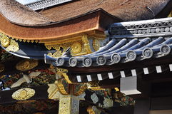 Japanese traditional architecture, roof detail Stock Photo