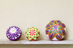 Japanese traditional ball Royalty Free Stock Photo