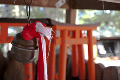 Japanese traditional bell Stock Photo