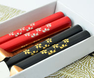Japanese traditional chopsticks Royalty Free Stock Image