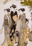 Japanese traditional clothing Stock Photos