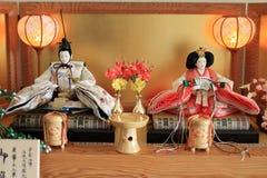 Japanese traditional doll on Hina festival. Hina doll Japanese traditional doll on Hina festival Stock Photo