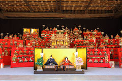 Japanese traditional dolls Royalty Free Stock Photos