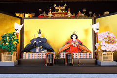 Japanese traditional dolls Stock Image