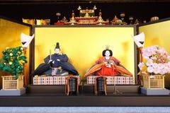 Japanese traditional dolls Stock Image