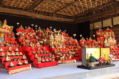 Japanese traditional dolls Stock Photography