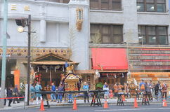 Japanese traditional festival Tokyo Royalty Free Stock Photo