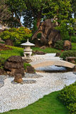 Japanese Traditional garden Stock Images