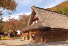 Japanese traditional house Stock Image