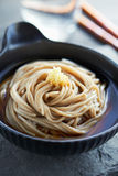 Japanese traditional noodle royalty free stock photo
