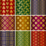 Japanese traditional pattern Royalty Free Stock Image