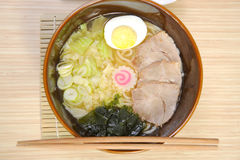 Japanese traditional ramen Stock Photography
