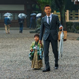 JApanese Traditional rite of passage and festival Stock Photo