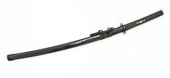 Japanese traditional samurai sword Royalty Free Stock Image