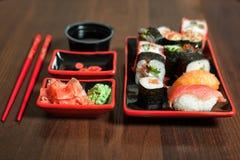 Japanese  traditional seafood closeup. Stock Image