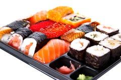 Japanese traditional sushi Stock Photo