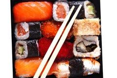 Japanese traditional sushi Royalty Free Stock Photos
