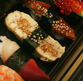 Japanese traditional sushi Stock Photography
