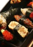 Japanese traditional sushi Royalty Free Stock Photography