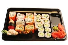 Japanese traditional sushi Royalty Free Stock Image