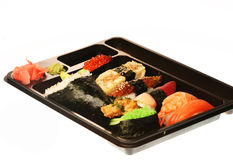 Japanese traditional sushi Royalty Free Stock Image