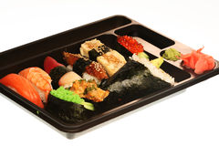 Japanese traditional sushi Stock Photo