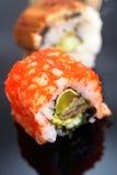 Japanese traditional sushi set Royalty Free Stock Image