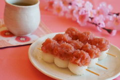 Japanese traditional sweets Stock Images