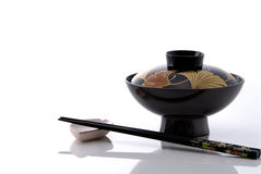 Japanese traditional tableware Stock Images
