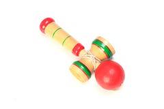 Japanese traditional toy -kendama Royalty Free Stock Photos