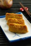 Japanese traditional type of sushi Inari-zushi Royalty Free Stock Photo