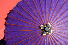 Japanese traditional umbrella Royalty Free Stock Image