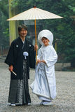 Japanese Traditional wedding Ceremony Royalty Free Stock Photo