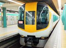 Japanese train Royalty Free Stock Photo