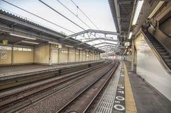 Japanese Train Station Royalty Free Stock Image