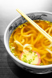 Japanese udon noodle Royalty Free Stock Images