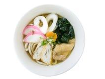 Japanese Udon noodles Stock Photo