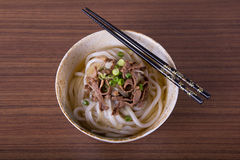 Japanese Udon Noodles Royalty Free Stock Photography
