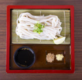 Japanese Udon Noodles Royalty Free Stock Photo