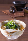 Japanese Udon Noodles Stock Photo