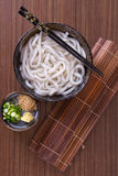 Japanese Udon Noodles Stock Image