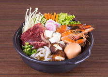 Japanese Udon Noodles Stock Photography