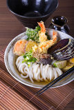 Japanese Udon Noodles Royalty Free Stock Images