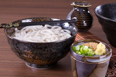 Japanese Udon Noodles Royalty Free Stock Photos