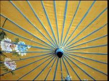 Japanese umbrella stock image