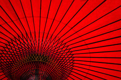 Japanese umbrella Stock Image